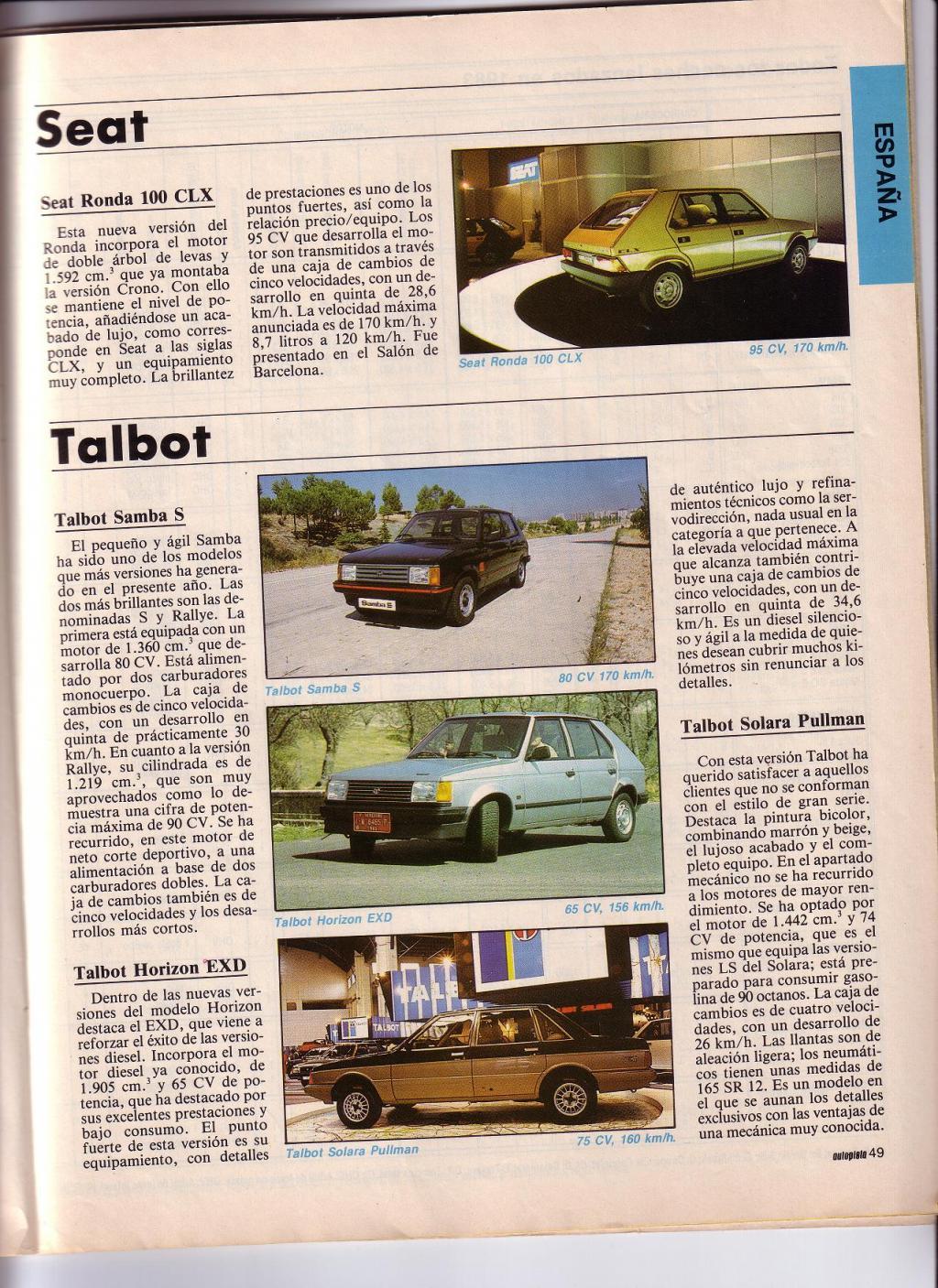 Talbot Solara: elle brille