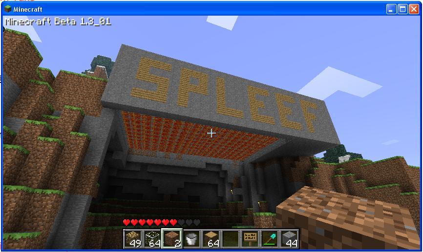 Minecraft Spleef-27a84d7